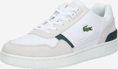 LACOSTE Sneakers laag in de kleur Donkergroen / Offwhite, Productweergave