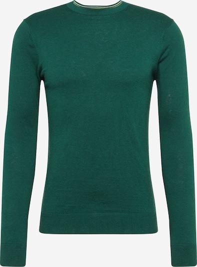 SCOTCH & SODA Pullover 'Ams Blauw cotton cashmere crew neck pull' in dunkelgrün, Produktansicht