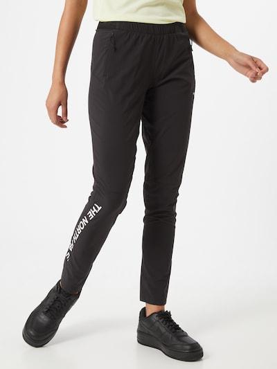 THE NORTH FACE Outdoorové kalhoty 'Varuna' - černá / bílá, Model/ka