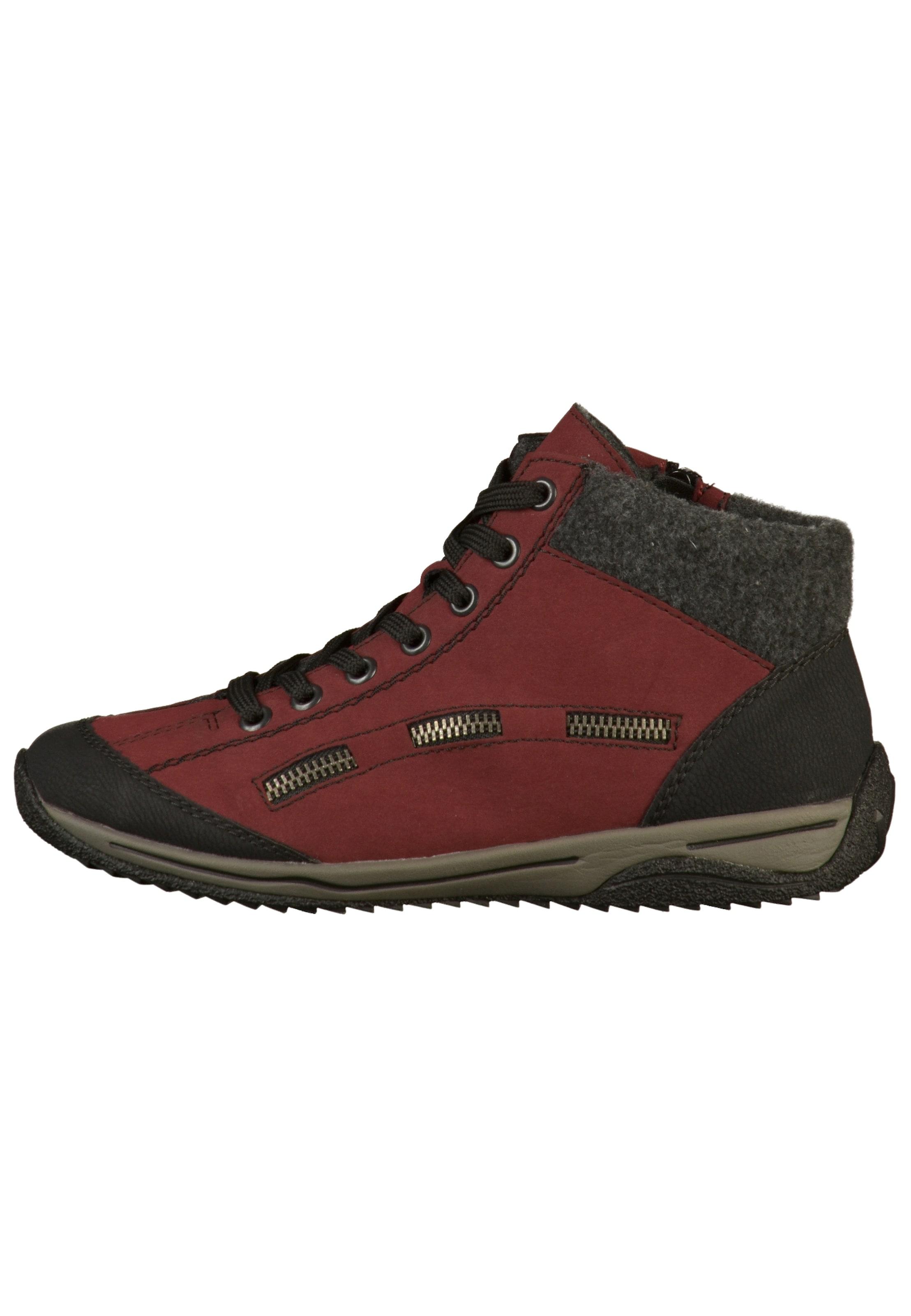 Sneaker In AnthrazitDunkelrot AnthrazitDunkelrot Rieker Rieker In Sneaker In AnthrazitDunkelrot Rieker Sneaker tsrdhQCx