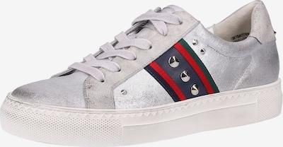 Paul Green Sneaker in navy / tanne / rot / silber, Produktansicht