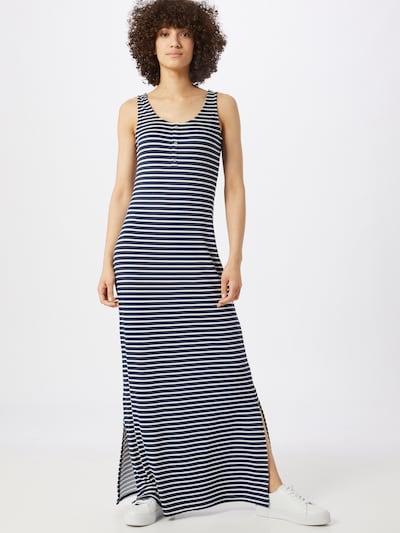 VILA Kleid in navy / weiß, Modelansicht