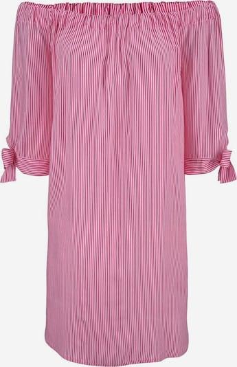 LASCANA Strandkleid in pink / weiß, Produktansicht
