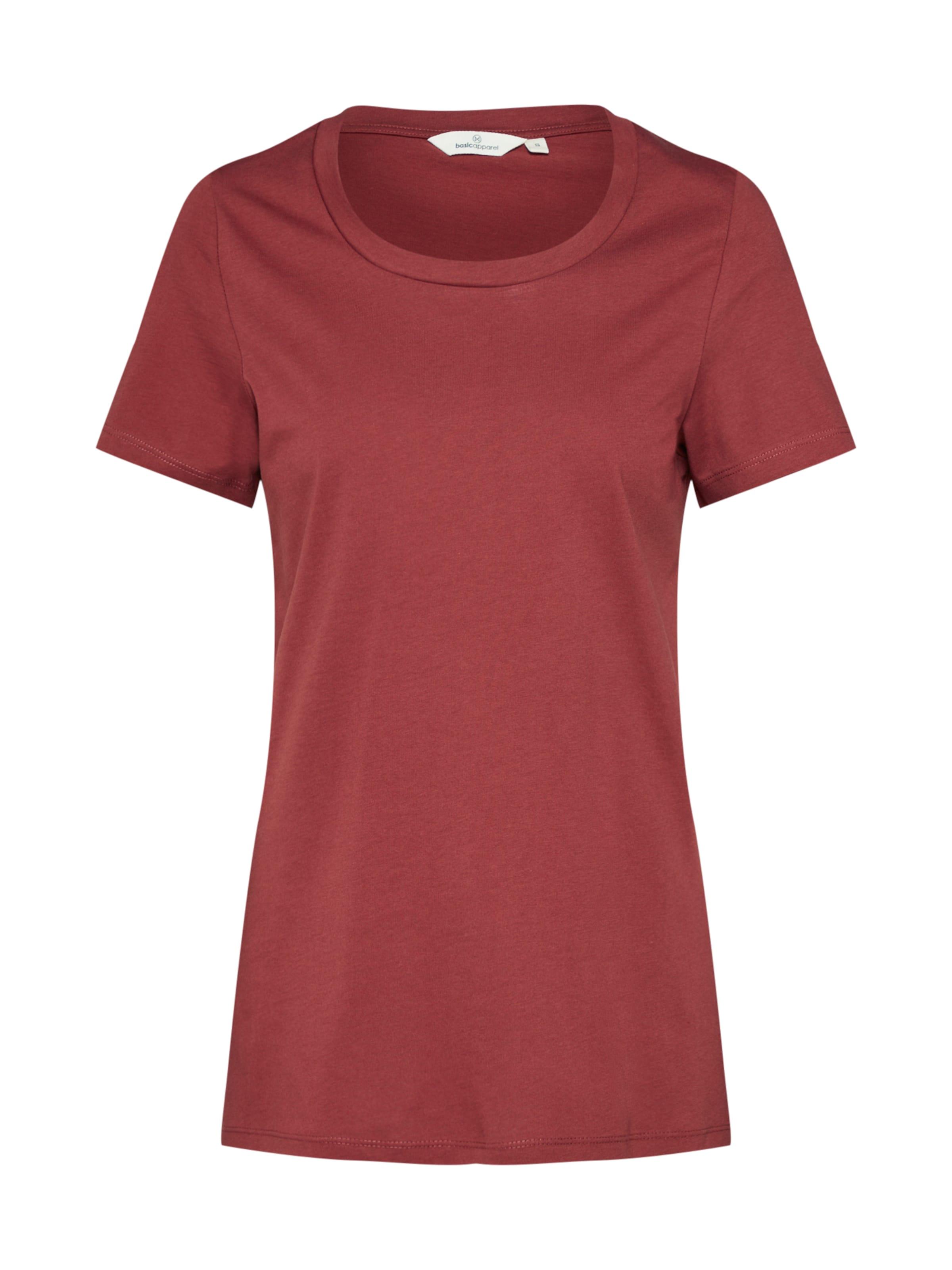 shirt Apparel T En Basic 'rebekka' Rouge dBoCxe