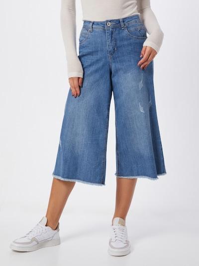 Cream Jeans 'Samina' in blue denim / hellblau: Frontalansicht