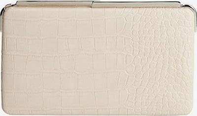 MANGO Pochette en blanc naturel, Vue avec produit