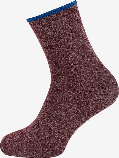 mp Denmark Socken 'Espe' in blau / beere, Produktansicht