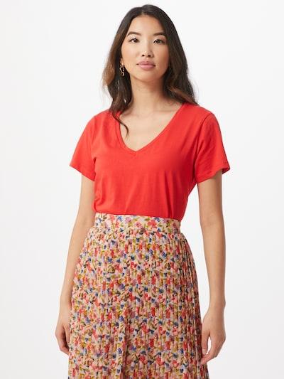 Trendyol Shirt in de kleur Rood / Wit: Vooraanzicht