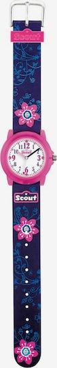 SCOUT Uhr in blau / pink, Produktansicht