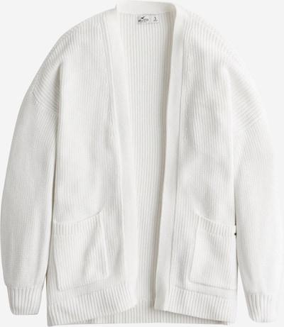 HOLLISTER Gebreid vest in de kleur Wit, Productweergave