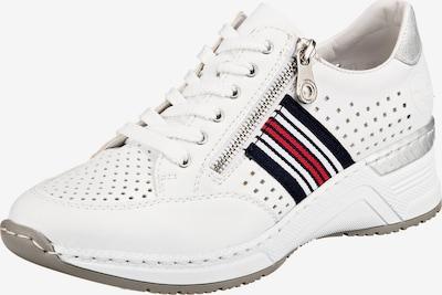 RIEKER Sneaker in dunkelblau / rot / weiß, Produktansicht