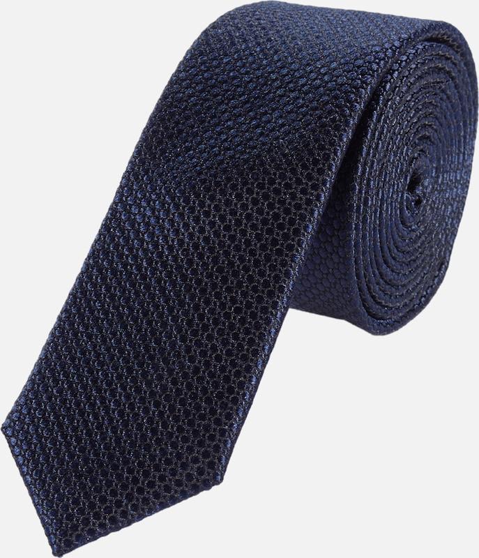 s.Oliver BLACK LABEL Krawatte mit Strukturmuster