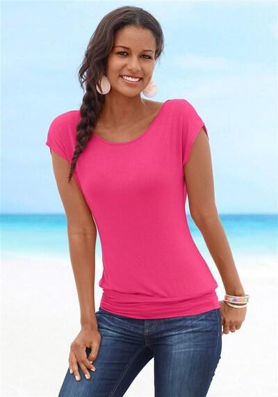 LASCANA T-Krekls pieejami rozā, Modeļa skats
