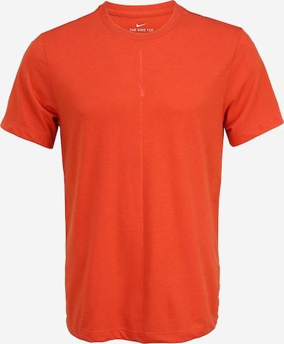 NIKE T-Shirt fonctionnel 'Nike Yoga Dri-FIT' en rouge, Vue avec produit