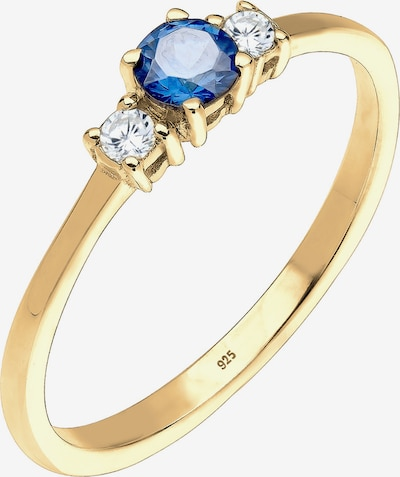 ELLI Prsten u safirno plava / zlatna, Pregled proizvoda