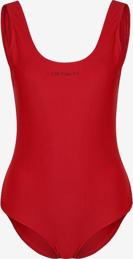 Carhartt WIP Badeanzug 'Script W' in rot, Produktansicht