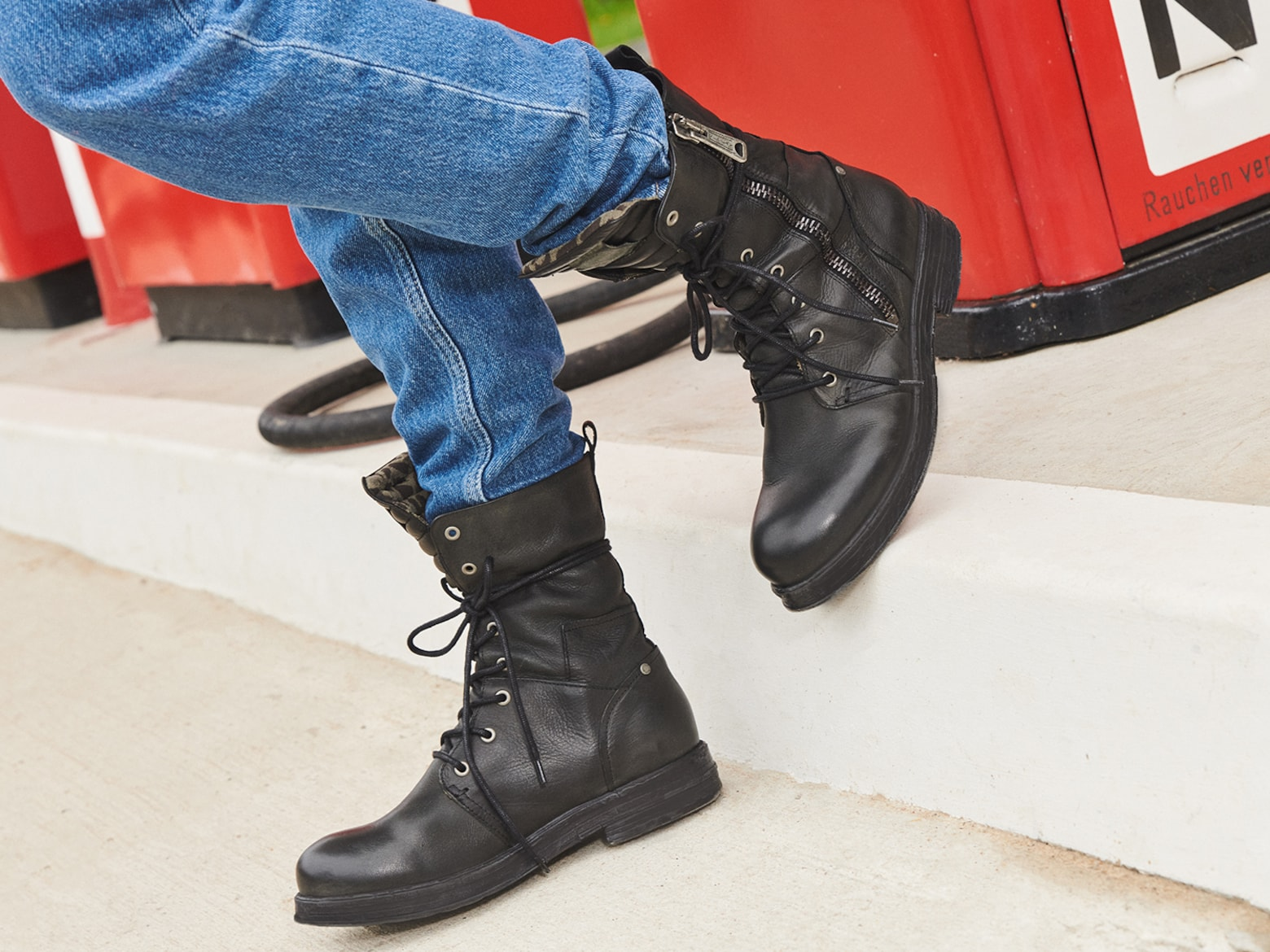 Stylische Boots & Stiefel REPLAY