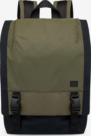 CAMPER Rucksack in khaki / schwarz, Produktansicht