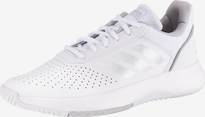 ADIDAS PERFORMANCE Sportschuh 'Courtsmash' in grau / weiß, Produktansicht