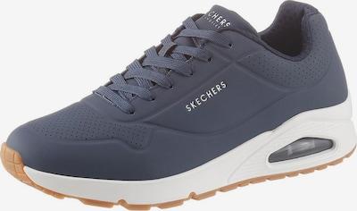 SKECHERS Sneakers laag 'Uno' in de kleur Navy / Wit, Productweergave