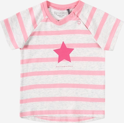 BELLYBUTTON T-Shirt in graumeliert / pink, Produktansicht