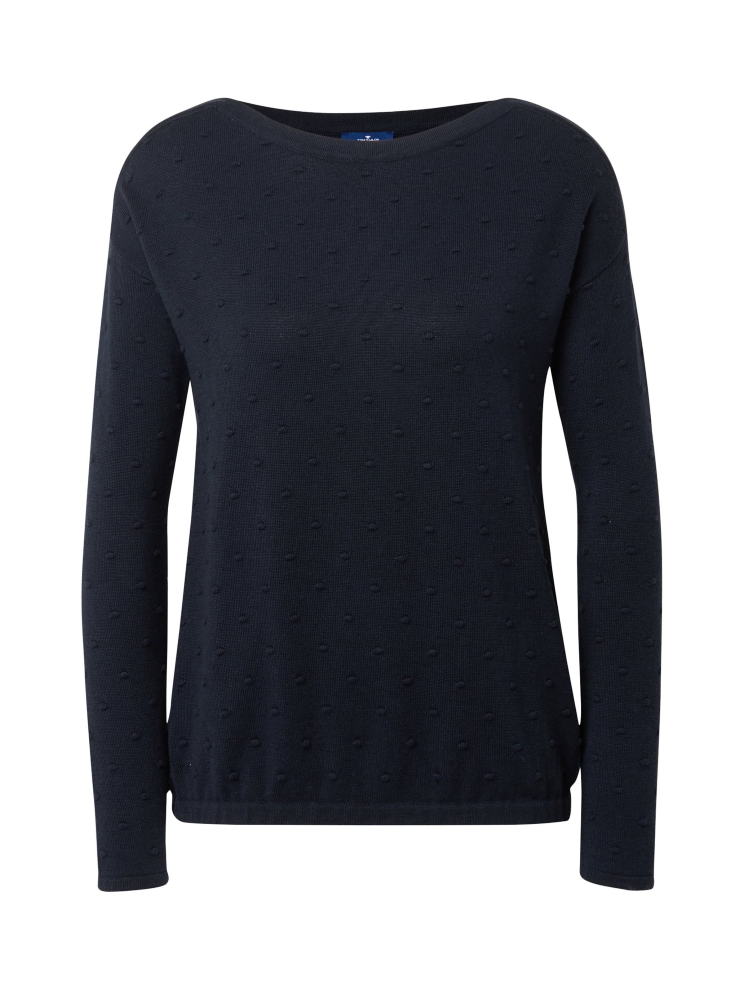 Tom In Tailor Tom Nachtblau Tailor Strickpullover H9IED2