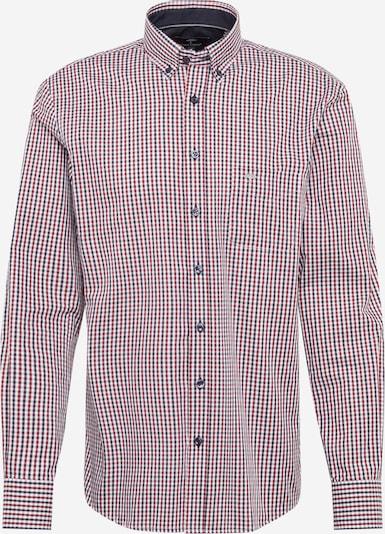FYNCH-HATTON Hemd in navy / rot / weiß, Produktansicht