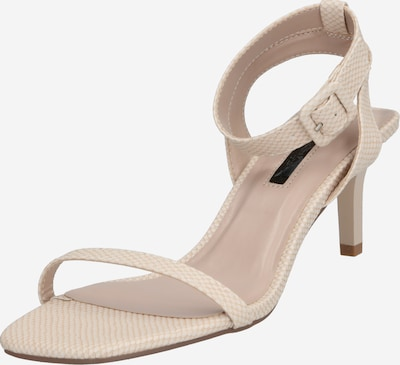Miss Selfridge Sandalette in nude, Produktansicht