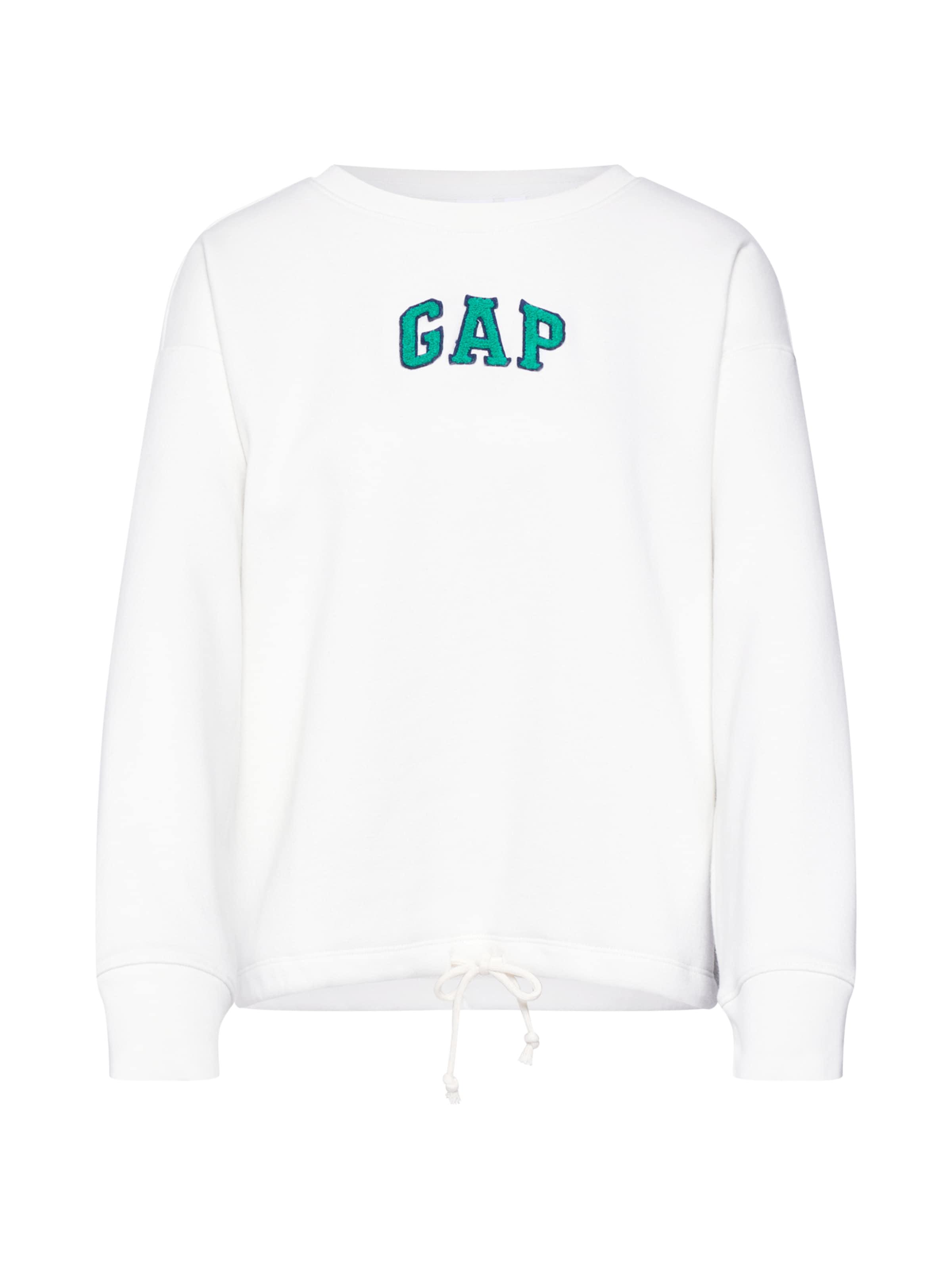 Gap 'gap Sweat Drawstring En shirt Po' Blanc m8NOwvn0
