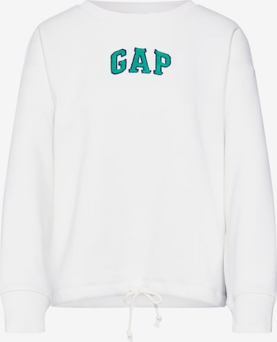 GAP Sweatshirt 'GAP DRAWSTRING PO' in de kleur Wit, Productweergave