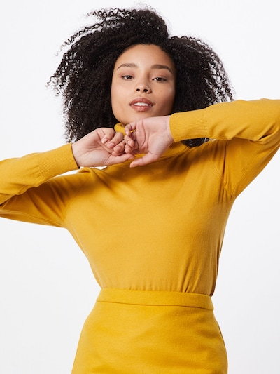 GLAMOROUS Pullover in gelb, Modelansicht