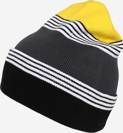 ThokkThokk Muts in de kleur Geel / Grijs / Zwart, Productweergave