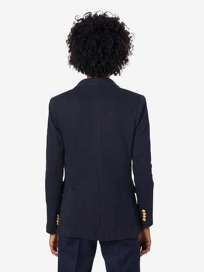 POLO RALPH LAUREN Strickblazer in navy: Rückansicht