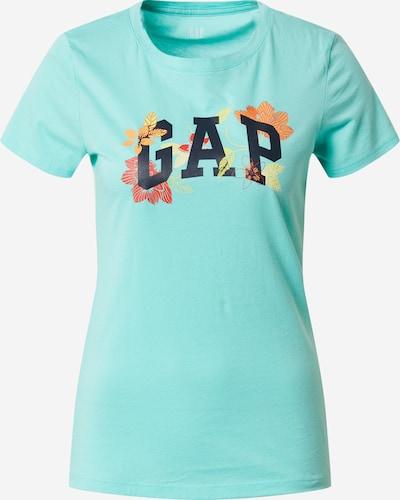GAP T-shirt 'GAP FLORALTEE' en aqua / mélange de couleurs, Vue avec produit