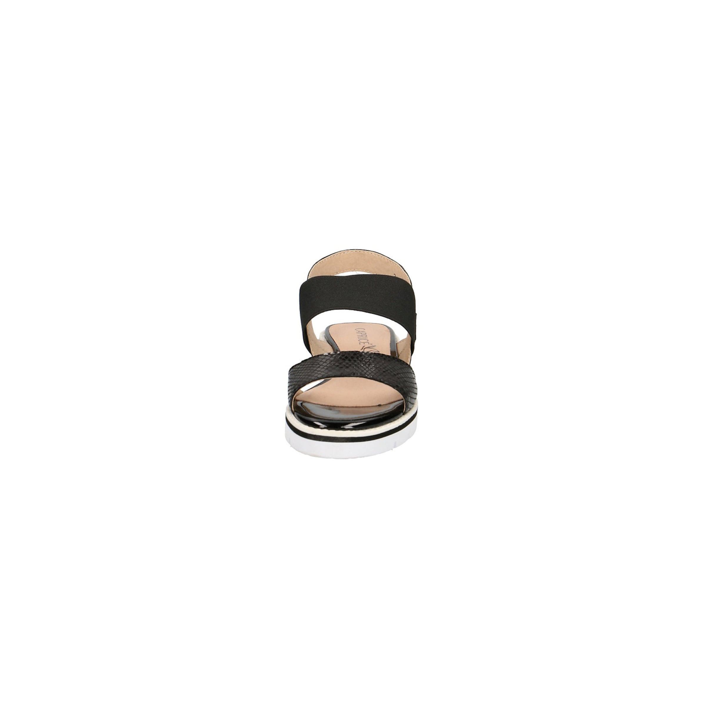 CAPRICE Sandalen Sandalen Sandalen Leder, Textil Bequem, gut aussehend 7ce10f
