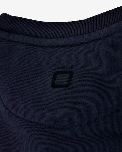CODE-ZERO Sweatshirt 'Headway' in blau / dunkelblau: Frontalansicht