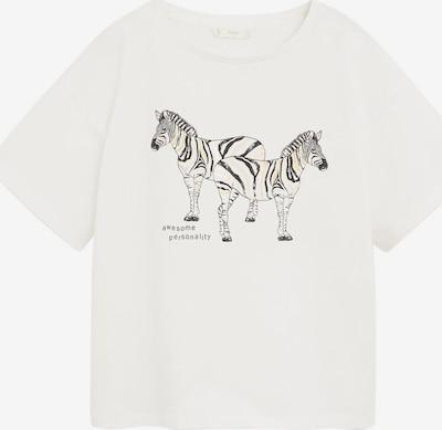 MANGO KIDS Shirt in de kleur Crème, Productweergave