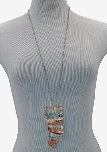 J. Jayz J.Jayz Lange Kette »in moderner Form« in rosegold / grau, Produktansicht