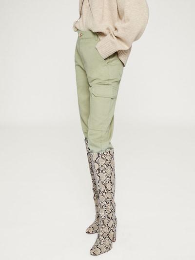EDITED Pantalon 'Krista' en kaki, Vue avec modèle