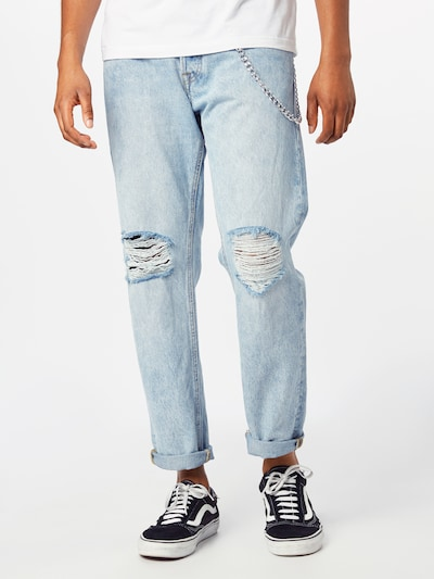 JACK & JONES Jeans 'Mike Original AM 989' in hellblau, Modelansicht