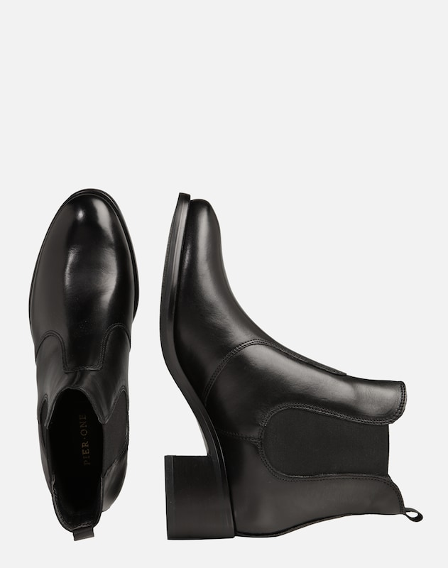 Pier One Stiefelette in schwarz | ABOUT YOU
