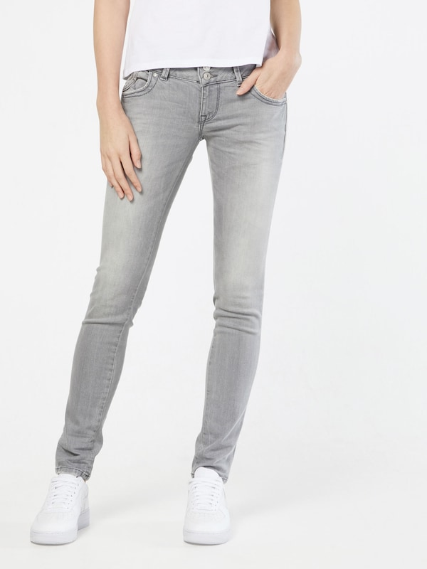 LTB Jeans 'Molly' in grey denim, Modelansicht