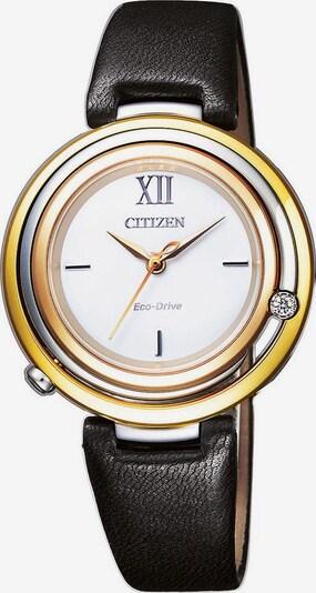 CITIZEN Uhr 'EM0656-15A' in gelb / schwarz / weiß, Produktansicht