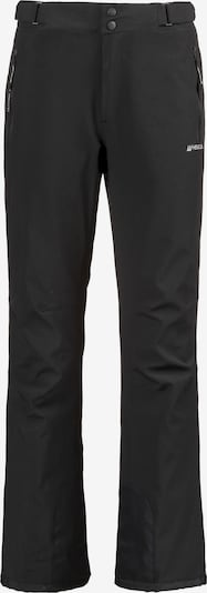 Whistler Skihose 'Portmann' in schwarz / weiß, Produktansicht
