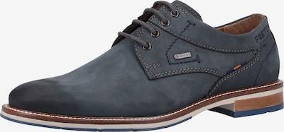 FRETZ MEN Chaussure à lacets en bleu-gris: Vue de face