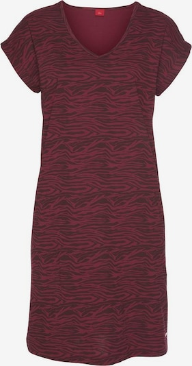 s.Oliver Nachthemd in bordeaux, Produktansicht