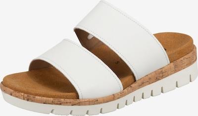 GABOR Pantoletten in weiß, Produktansicht