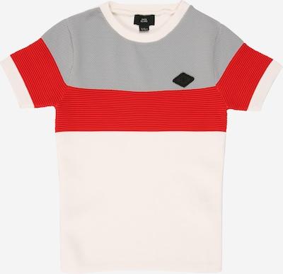 River Island Shirt 'OTTOMAN' in de kleur Rood / Zwart / Wit, Productweergave