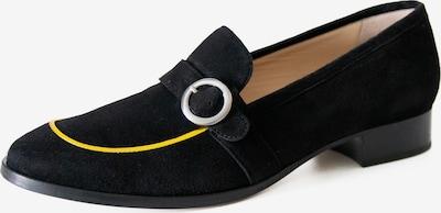 Mélyade Loafers in gelb / schwarz, Produktansicht
