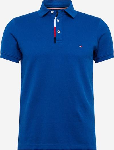 TOMMY HILFIGER T-Shirt 'Rwb Placket' en bleu, Vue avec produit